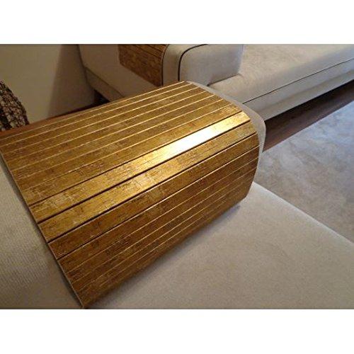Brilliant Amazon Com Full Slatted Gold Leaf 30Cmx40Cm Sofa Tray Sofa Evergreenethics Interior Chair Design Evergreenethicsorg