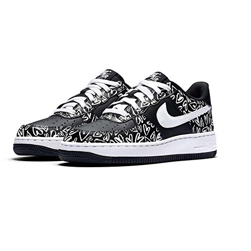 Zapatillas Nike – Air Force 1 Print (Gs) negro/blanco/rosa