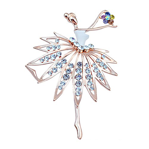 White Gold Diamond Fashion Brooch - 3
