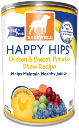 Dogswell Happy Hips Chicken and Sweet Potato Canned Dog Food