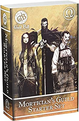 Steamforged Games Guild Ball Mortician Starter Set by Lion Rampant Imports Ltd