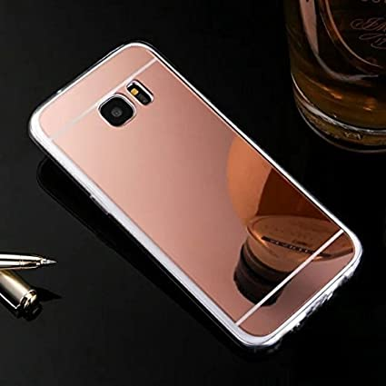 Samsung Galaxy S8 Cover, Samsung Galaxy S8 Custoida, KunyFond Cover Custodia per Galaxy S8 in Silicone Diamante Bling Glitter Custodia Cover Moda Lusso Orso Bello Lovely Specchio con Anello Supporto Scintilla Scintillio Sparkle Strass Case per Samsung Gala