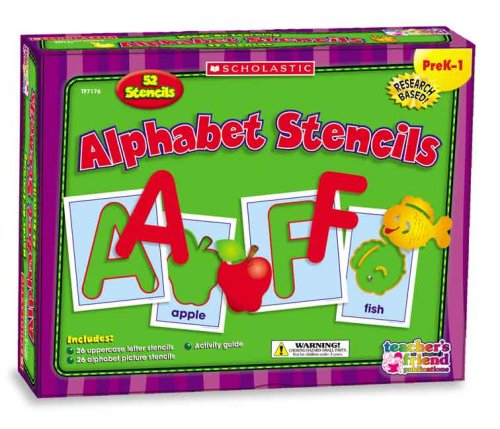 Alphabet Stencils (Scholastic Hands-On Learning)