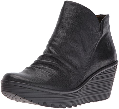 FLY London Damen Yip Boot Schwarzmousse 017