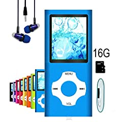Product Description This tylish, ultra-light, mini MP3 MP4 players can hold a massive 5500+ songs. It is easy handling and carrying, you can enjoy your favorite music whenever and wherever you are. The fashional appearance and the light weigh...