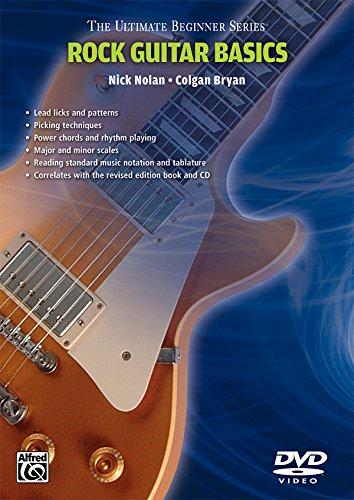 - Ultimate Beginner Rock Guitar Basics: Steps One & Two (DVD)