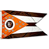 Cheap College Flags and Banners Co. Bowling Green State Falcons State of Ohio Flag