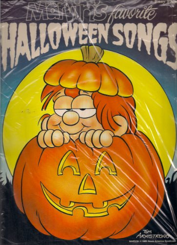 Marvin's Favorite Halloween Songs (Easy Piano) ()