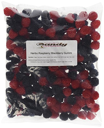 Haribo Raspberries Blackberries Gummi 2lb