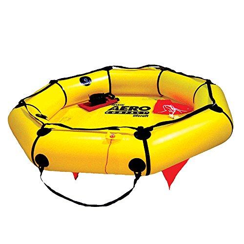 4 Raft Valise Person Life (Revere 4 Person Aero Compact Valise Liferaft)