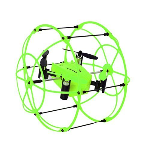 Lanlan HM 1336 4CH 3 mode Drone 2.4G 6Axis Quadcopter round Rollover Remote Green Flight time Above 5mins