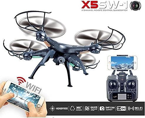Kobwa FPV HD cámara Drone con tiempo real transmisión, modo sin ...