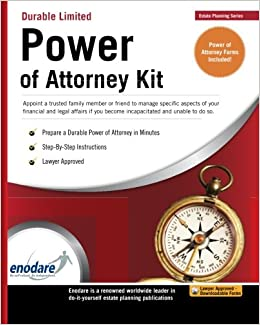 Durable limited power of attorney kit amazon enodare durable limited power of attorney kit amazon enodare 9781906144357 books solutioingenieria Image collections