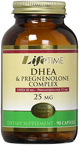 LifeTime DHEA Pregnenolone Supplement Count product image