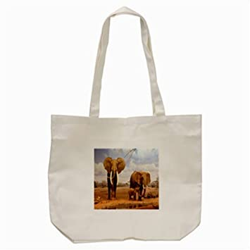 Tote Bag Elephant Cream