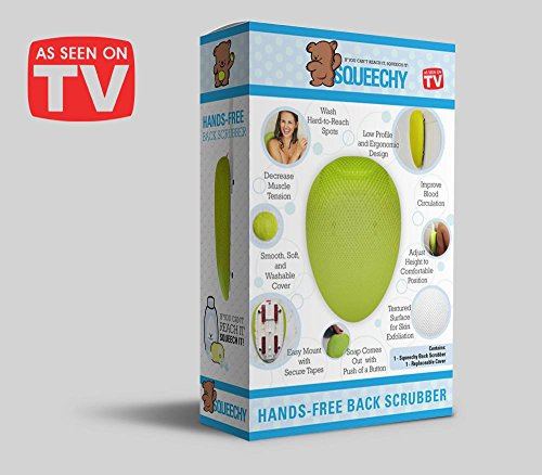 Squeechy- Hands Free Back Scrubber (Hands Free Back Scrubber compare prices)