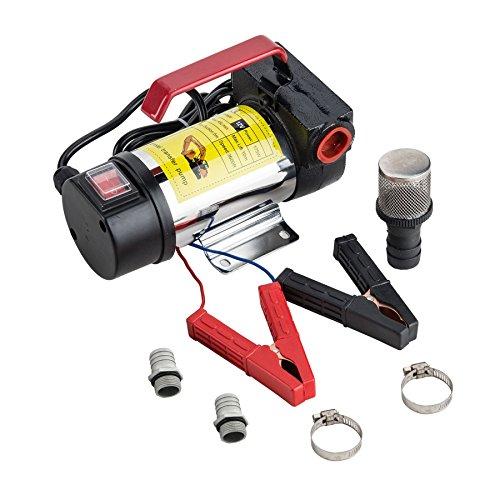 Diesel Oil Motor Fuel (Orion Motor Tech 12V Bio Diesel Kerosene Fuel Transfer Direct Current Pump Kit Nozzle Dispenser)