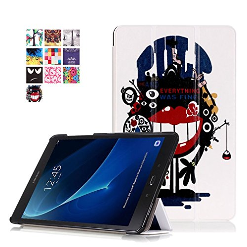 Galxy inch A 10 Cover Samsung Slim Tab Cover Folding Galaxy Samsung A 10 Soft Case Galaxy Tab Galaxy A Tab Case A mouth Big Samsung Case window 1 for Church Cover Back 2016 1inch Tab T580 1 Back 10 10 07rU0qz