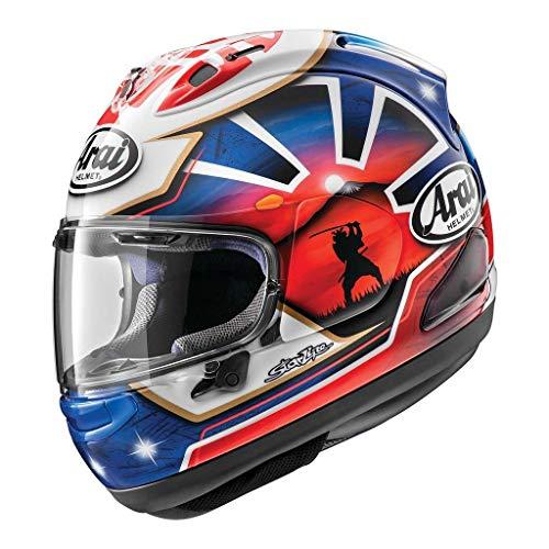 (Arai Corsair-X Dani Samurai-2 Adult Street Motorcycle Helmet - Blue/X-Small)