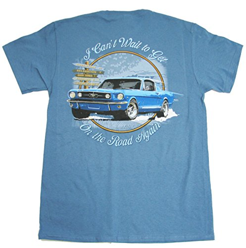 Early Ford Mustang Fastback T-Shirt by Joe Blow T's 100% Cotton Preshrunk