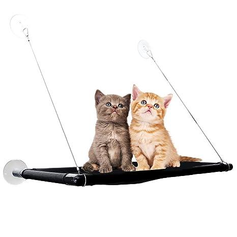 SISIRI Hamaca para Ventana de Gato, Asiento para Mascotas, Duradera, cómoda, Resistente