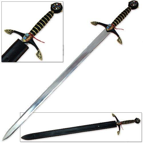 Royal Knightly European Longsword Replica - Stainless Steel Blade