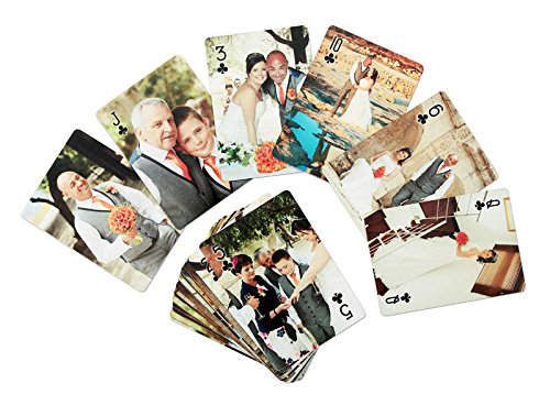 Personalised Playing Cards. Different Photo to Each Card. Unique Gift (Custom Deck Of Cards)