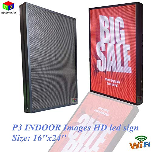 P3 Indoor ad Clear Images Logo Colorful WiFi led Sign Board by CXGuangDian (Image #5)