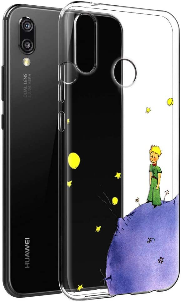 YOEDGE Funda Huawei P Smart Plus Ultra Slim Cárcasa Silicona ...