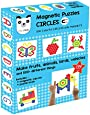 Magnetic Puzzles : Circles (Includes 200 magnets + magnetic board + puzzle book with 90 puzzles)