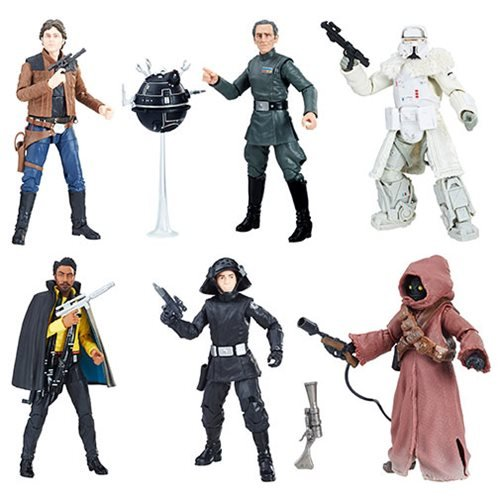 Star Wars The Black Series 6-Inch Action Figure Wave 16 Set