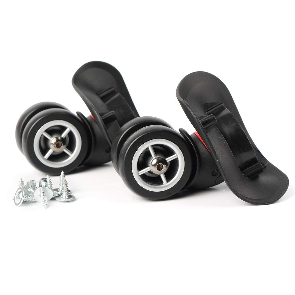 Timmart Luggage Suitcase Replacement Wheels PVC Left Right Swivel Coaster Wheels - Set of 2 by Timmart (Image #5)
