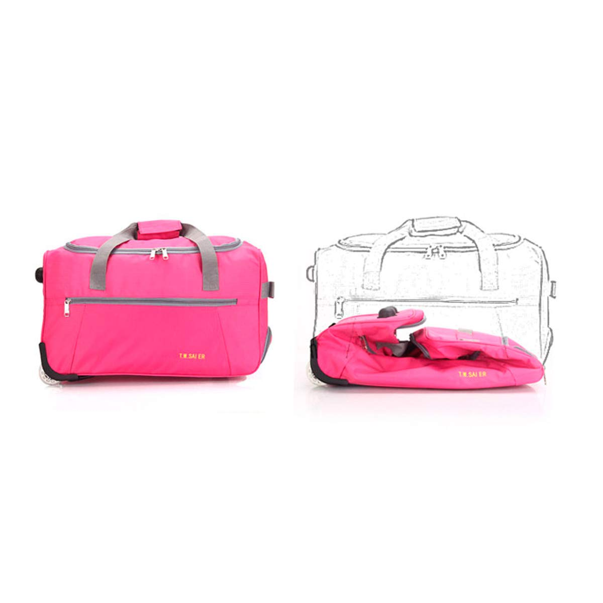 22 Inches Travel Case Simple Color : Pink Travel Storage Box Red The Latest Style Huijunwenti Trolley Case