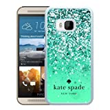 Unique Designed Kate Spade Cover Case For HTC ONE M9 White Phone Case 161