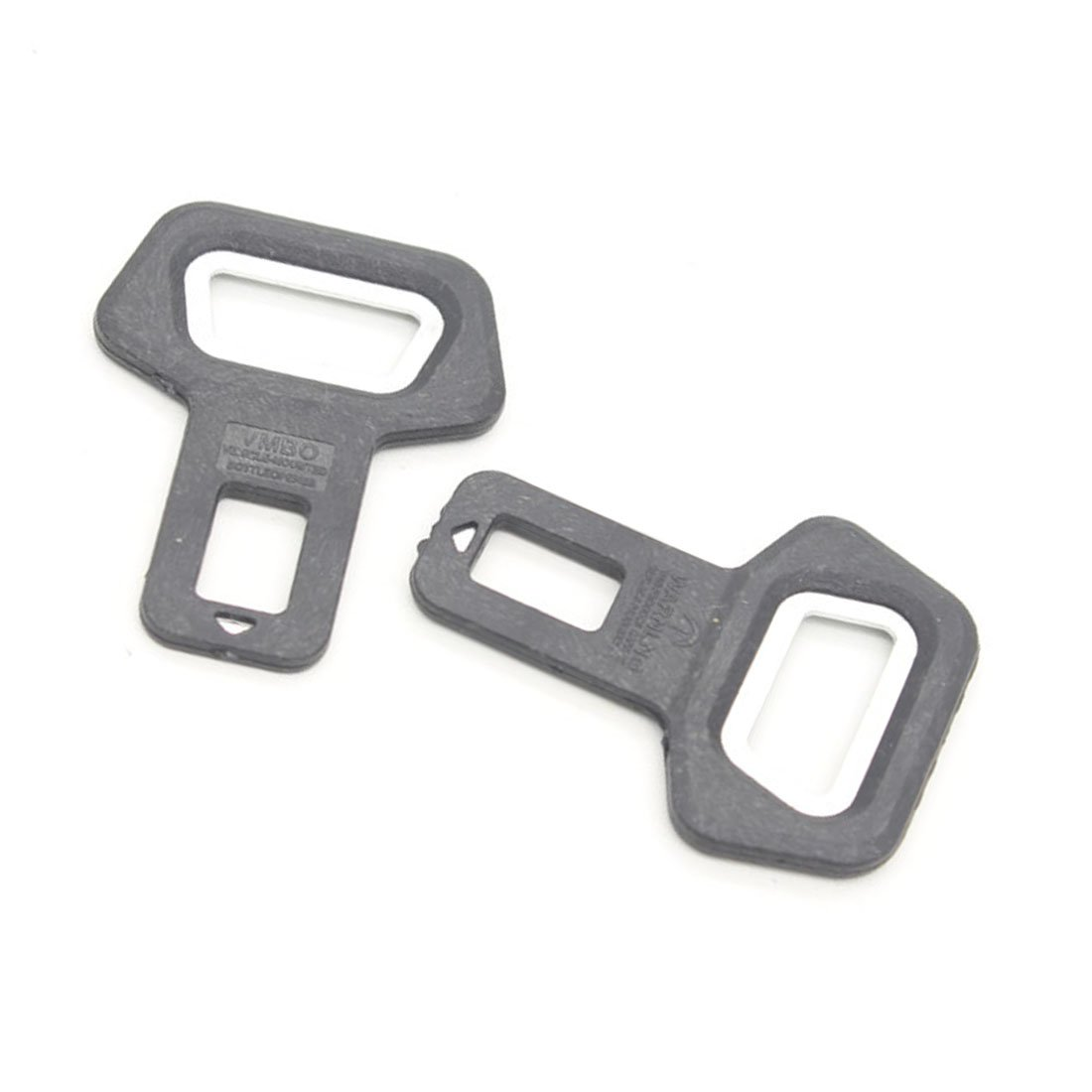2pcs Car Metal Safety Seat Belt Buckles And Home Dual-Use Bottle Opener RGAta
