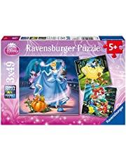 Puzzle Disney Ksiezniczki 3x49