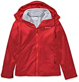 Columbia Women's Ruby River Interchange Jacket, red Lily Sparkler Print, Medium