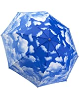 Galleria Clear Skies Folding Umbrella