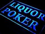 Liquor Poker Beer Bar Pub LED Sign Neon Light Sign Display s028-b(c)