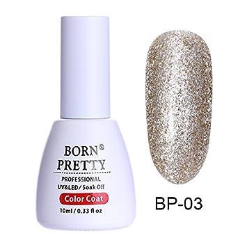 BORN PRETTY Glitter UV Gel Nail Polish Set 5366ca7c02fd