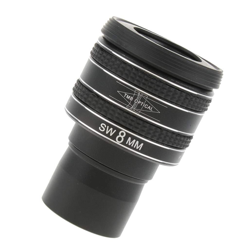 Baoblaze Eyepiece for Telescope Lens 1.25'' Connect Digital Camera via T Ring Adapter Filter Thread Fully Multicoated 95% Light Transmittance