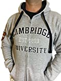 Official Cambridge University Zipped Hoody - For KIDS- Official Apparel of the Famous Univeristy of Cambridge