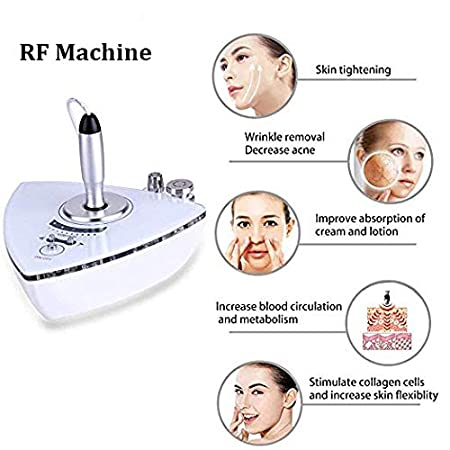 RF Radio Frequency Machine, Professional Home Use Facial Machine for Skin Face Tightening Slimming Lifting RF Beauty Machine (RF therapy machine) crafts man