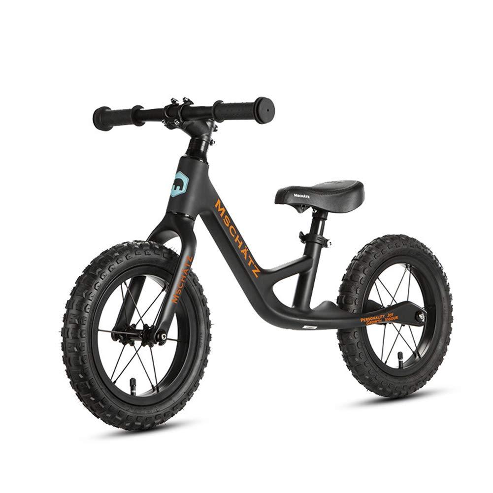 子供のためのバランスバイク、ペダルトレーニング子供のサイクルを調整可能なハンドルバーとシート炭素繊維子供のスライド2-6 歳のために適した   B07PBTJM9L