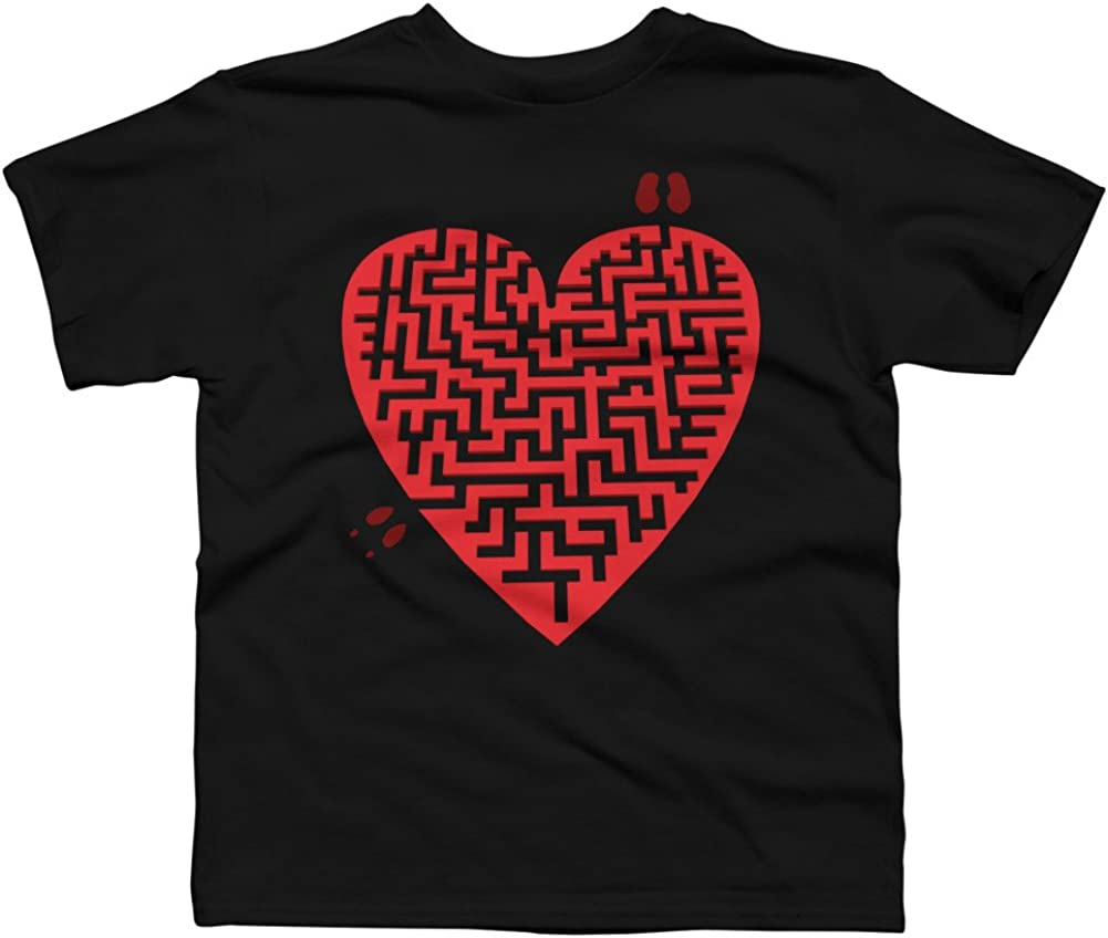 Love Maze Boys Youth Graphic T Shirt Design By Humans