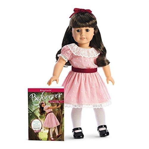 American Girl - Beforever Samantha Doll & Paperback Book (American Girl Doll Names)