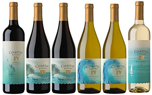 Beaulieu Vineyard Coastal Estates Summer Wine Mixed Pack, 6 x 750 mL