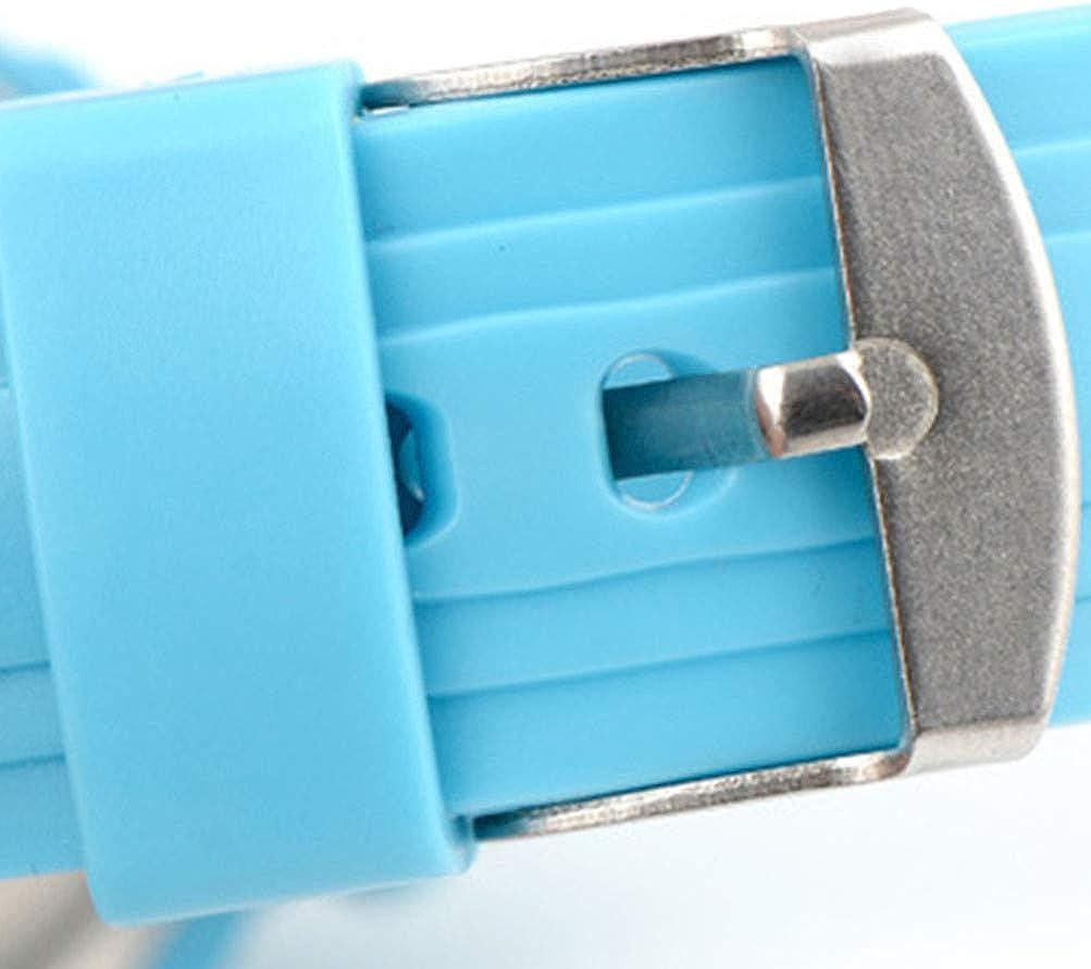 Baluue Enfants Montre Numérique Multi Fonction Numérique LED Sport Montre Enfants Étanche Montre-Bracelet Montres pour Garçons Filles Bleu