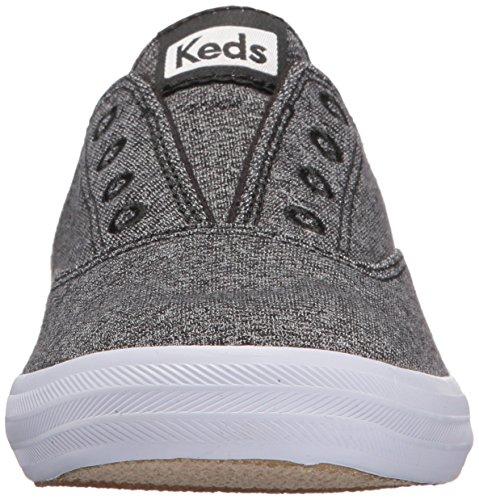 Keds Femmes Moxie Mule Studio Jersey Sneaker Charbon De Bois