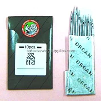 10 órgano 29 x 3 dix3 332 Agujas para máquina de coser Singer 29 K 29U 29 - 4 shoe Patcher: Amazon.es: Juguetes y juegos